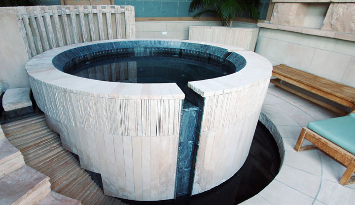 Custom Raised Spa