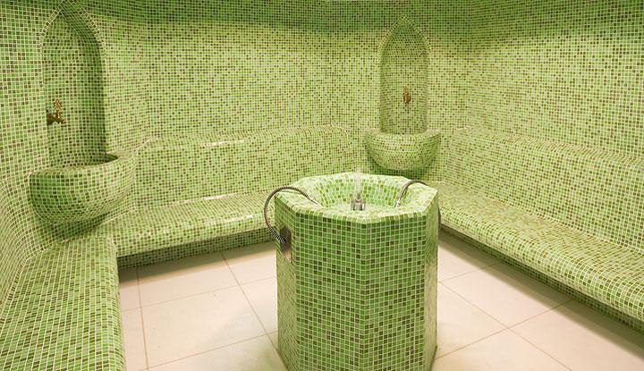Luxury Tile Steam Room