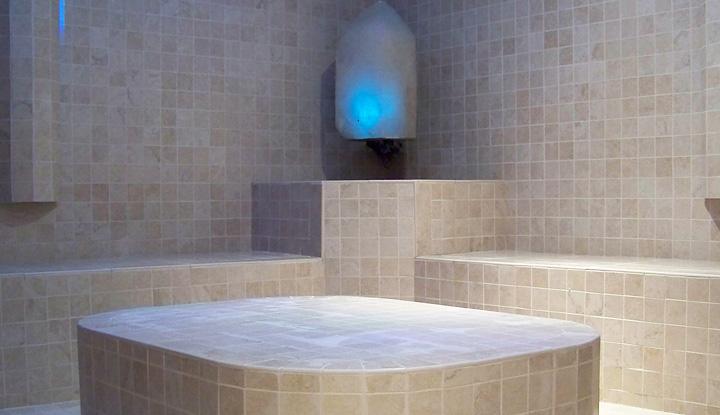 Crystal Steam Room Mandarin Oriental Spa Boston
